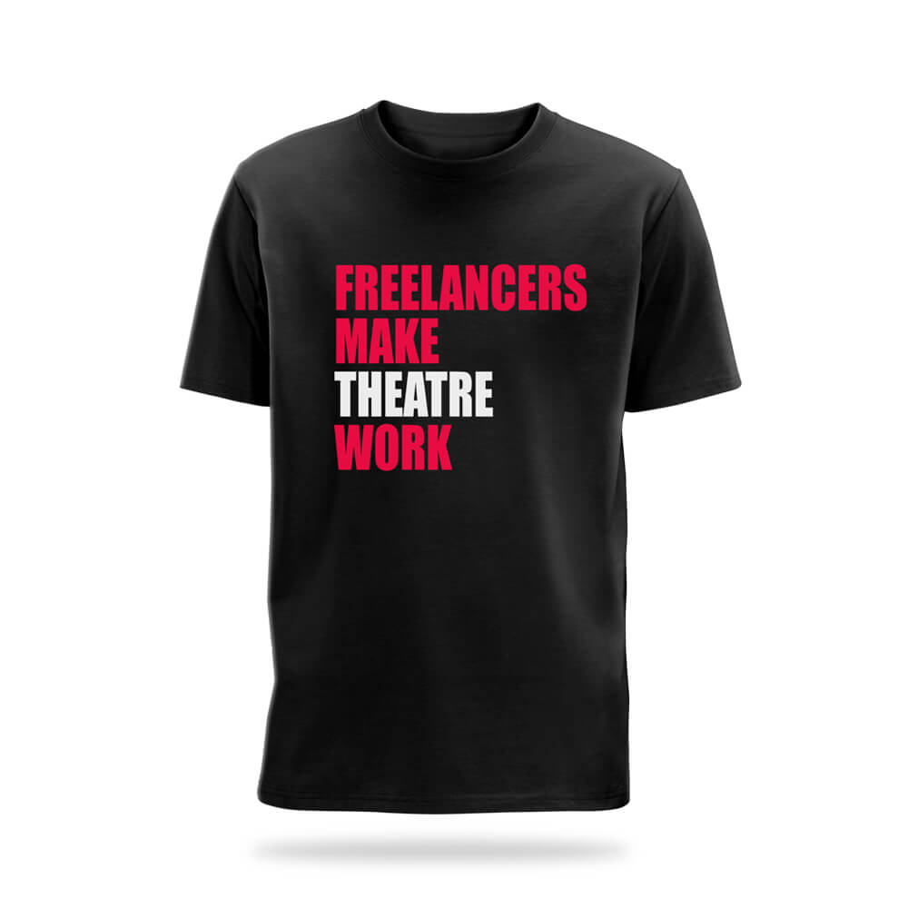 T-Shirt Freelancers Make Theatre Work