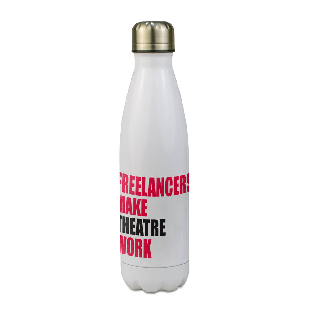 Water Bottle Freelancers Make Theatre Work