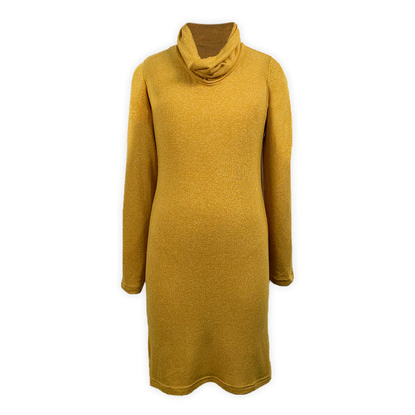 Camie Girls Cowl Neck Long Sleeves Dress