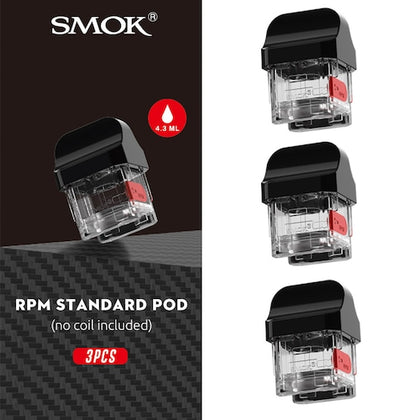 Smok RPM40 Extension Pods 4.3ml - Vape Kits UK