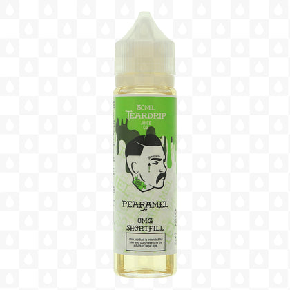 PEARAMEL BY TEARDRIP E LIQUID | 50ML SHORT FILL