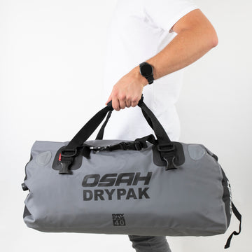 OSAH 40L DRIFT DUFFEL BAG GREY