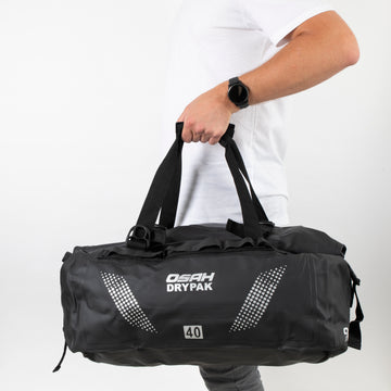OSAH 40L CARGO DUFFEL BAG BLACK