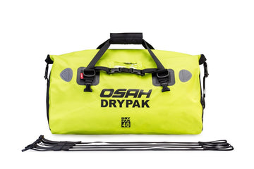 OSAH 40L DRIFT DUFFEL BAG HI-VIS GREEN