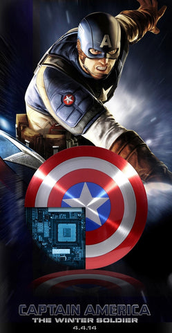 Image of Captain America Shield Power Bank