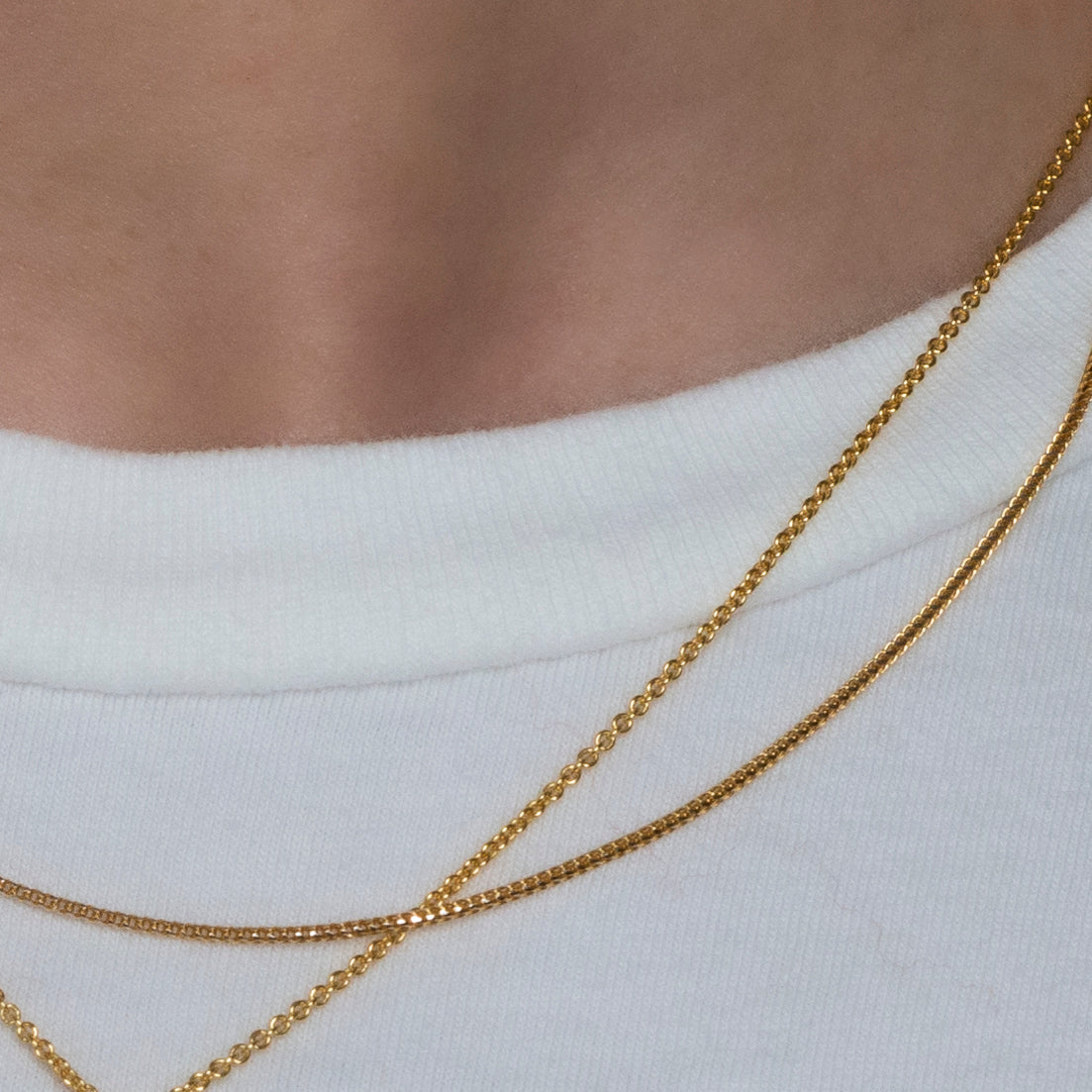 Franco Chain in 18k Yellow Gold