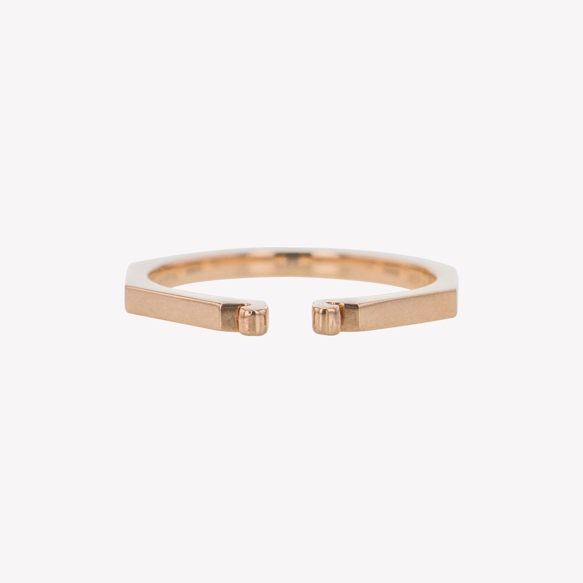 Rose Gold Octa Clip Band