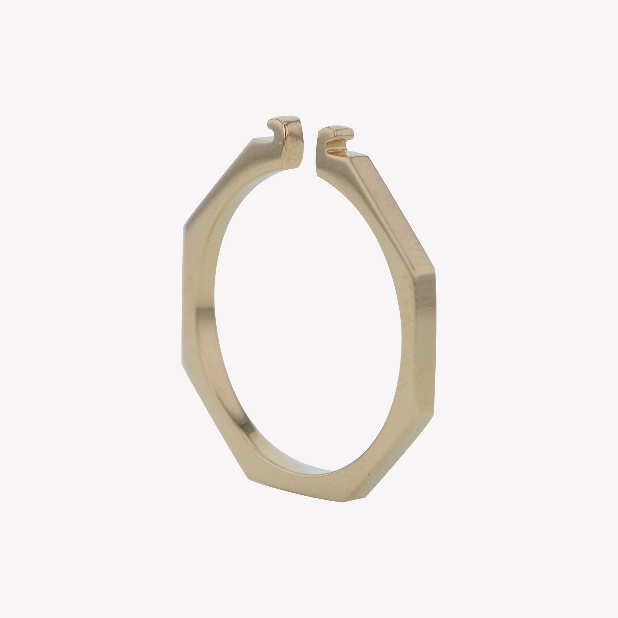Yellow Gold Octa Clip Band
