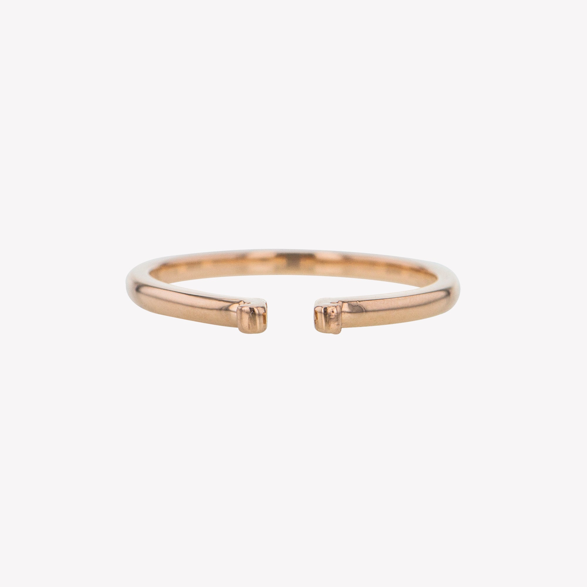 Rose Gold Round Clip Band