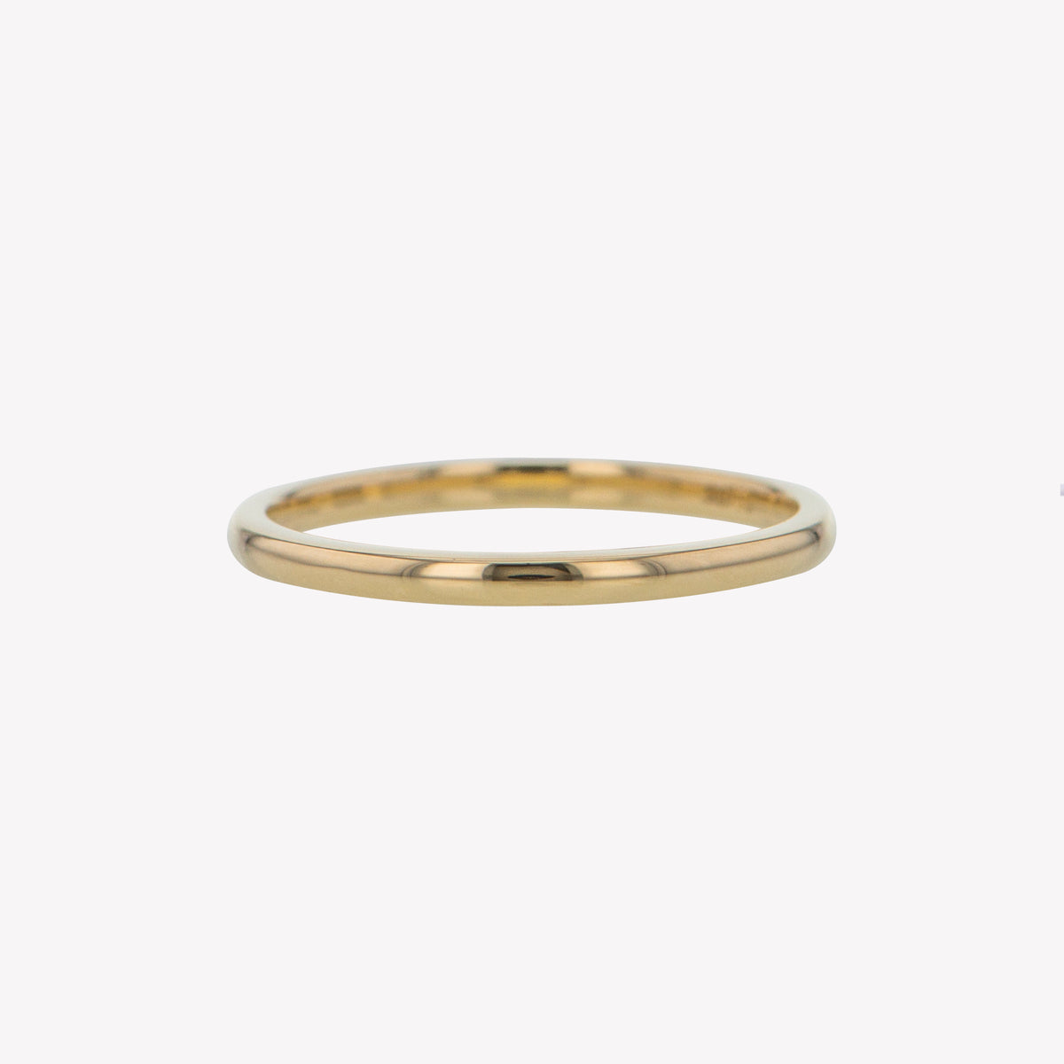 Yellow Gold Round Stack Band