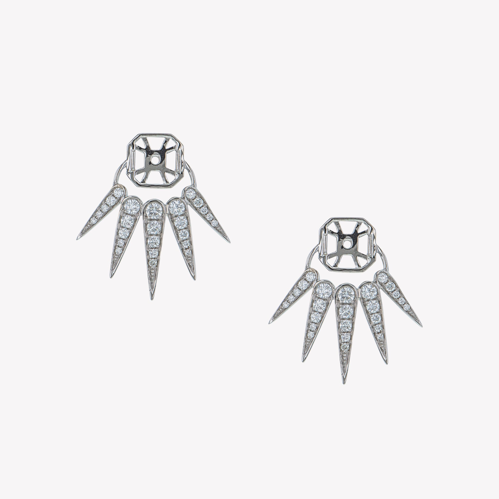 Spike Accessories For White Gold Ascher Studs