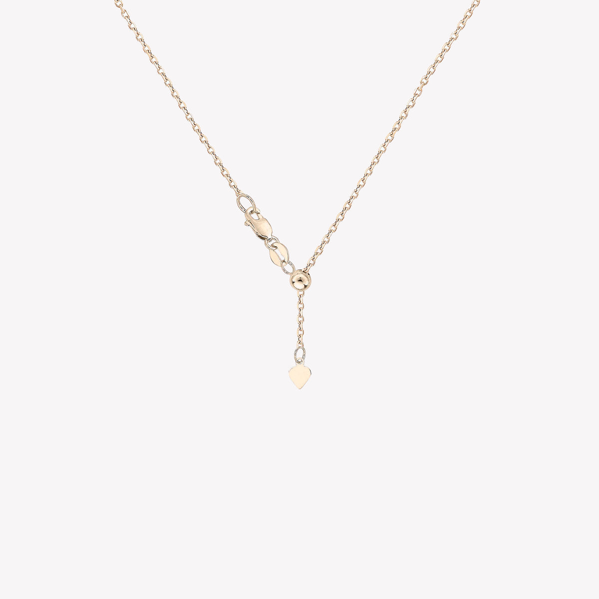 Yellow Gold Adjustable Chain