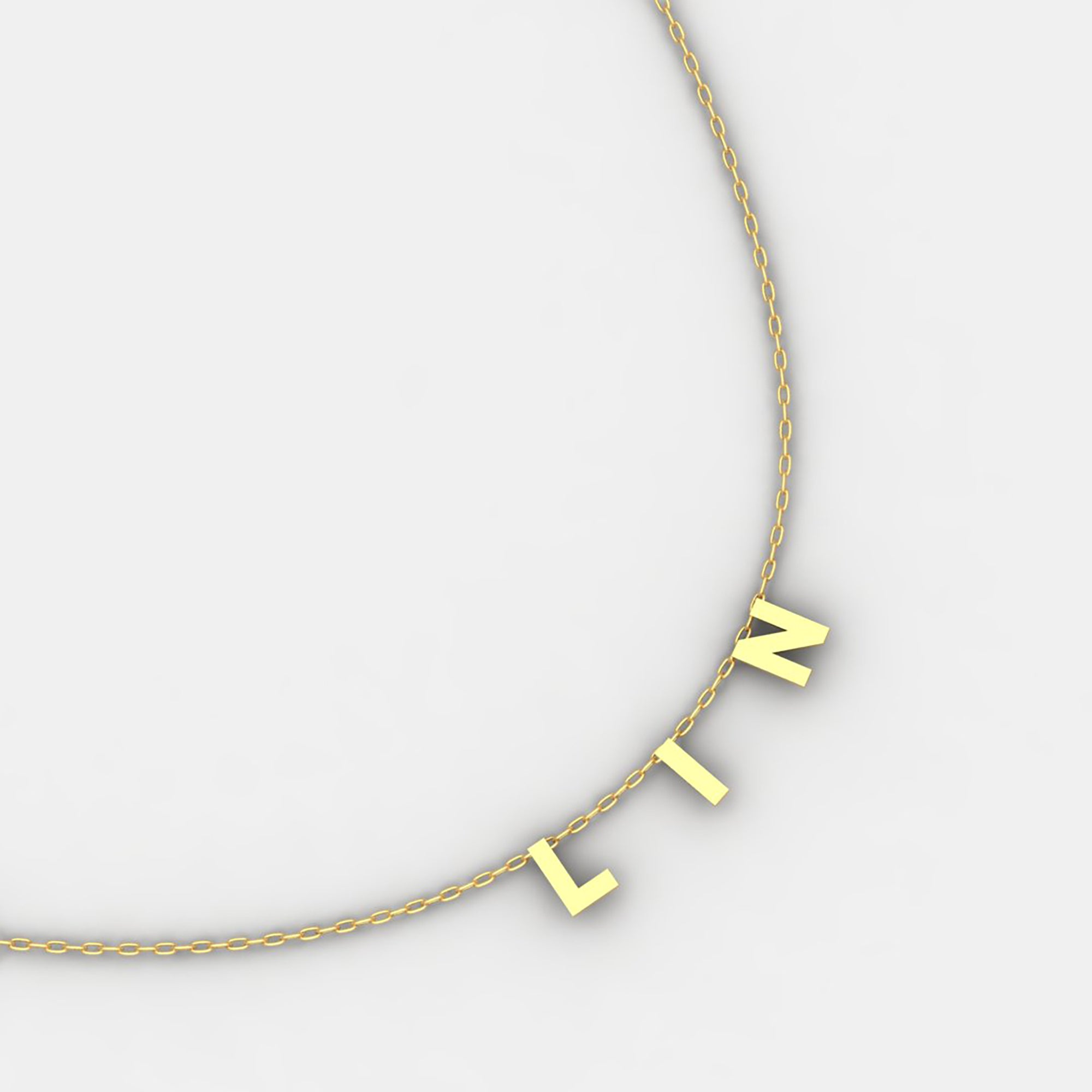 18k Yellow Gold Hope Necklace