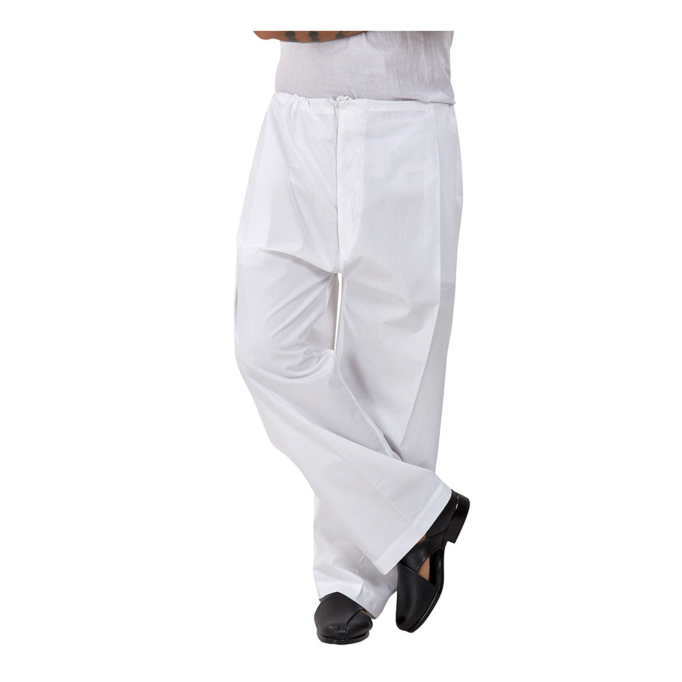 Ajay Arvindbhai Khatri Men's Pure Cotton Regular Pyjama white Colour