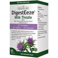 DigestEeze 150mg (Equivalent 2750-6600mg Milk Thistle)