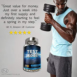 #1 Test Xcel - 3 Months Supply | Informed Sport Registered | 17 Potent Active Ingredients with Added Maca, D Aspartic Acid, Nettle, Fennel, Asian Red Panax Ginseng and More