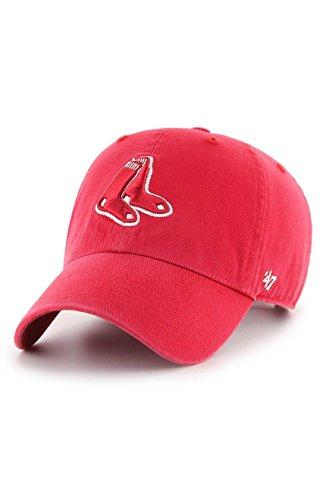 '47 Boston Red Sox Brand Clean Up Adjustable Hat - Red