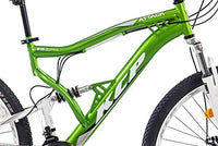 '1/4 Inches Mountain Bike KCP ATTACK 21 speed SHIMANO UNISEX WITH TX Green/White