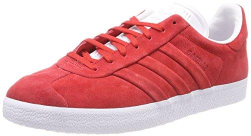 adidas Men's Gazelle Stitch and Turn Fitness Shoes, Red (RojuniFtwbla 000), 9 UK