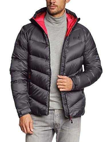 Jack Wolfskin Svalbard Men's Down Jacket Men's Jacket grey Dark Steel Size:M