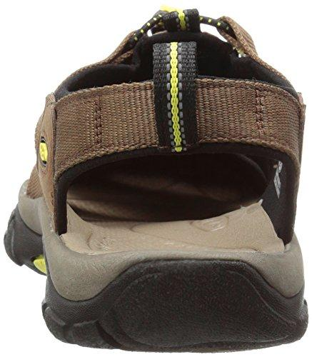 best service 20ad3 4b65a Keen Men's Newport H2 Track & Field Shoes, Brown (Dark Earth/Acacia), 6.5  UK 40 EU