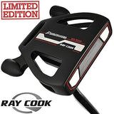 """LTD EDITION"" RAY COOK BLACK SPIDER 34"" MALLET PUTTER +HEADCOVER & MIDSIZE GRIP"