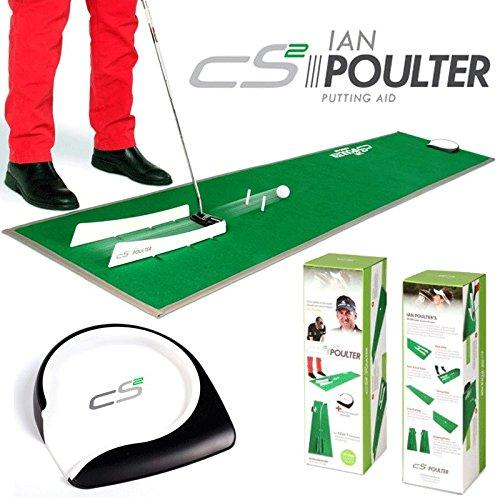 """NEW 2016"" IAN POULTER CS2 PRACTICE PUTTING MAT TRAINING AID - HOLE MORE PUTTS"