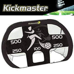 """NEW 2017"" KICKMASTER LARGE QUICK UP GOAL +DETACHABLE FOOTBALL SKILLS TARGET"