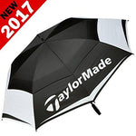 """NEW 2017"" TAYLORMADE 64"" TOUR LOGO WindPro® DUAL CANOPY / VENTED GOLF UMBRELLA"