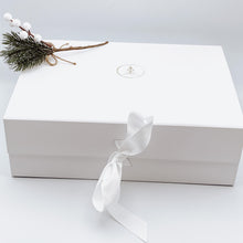 Load image into Gallery viewer, Large White Gift Box with Ribbon