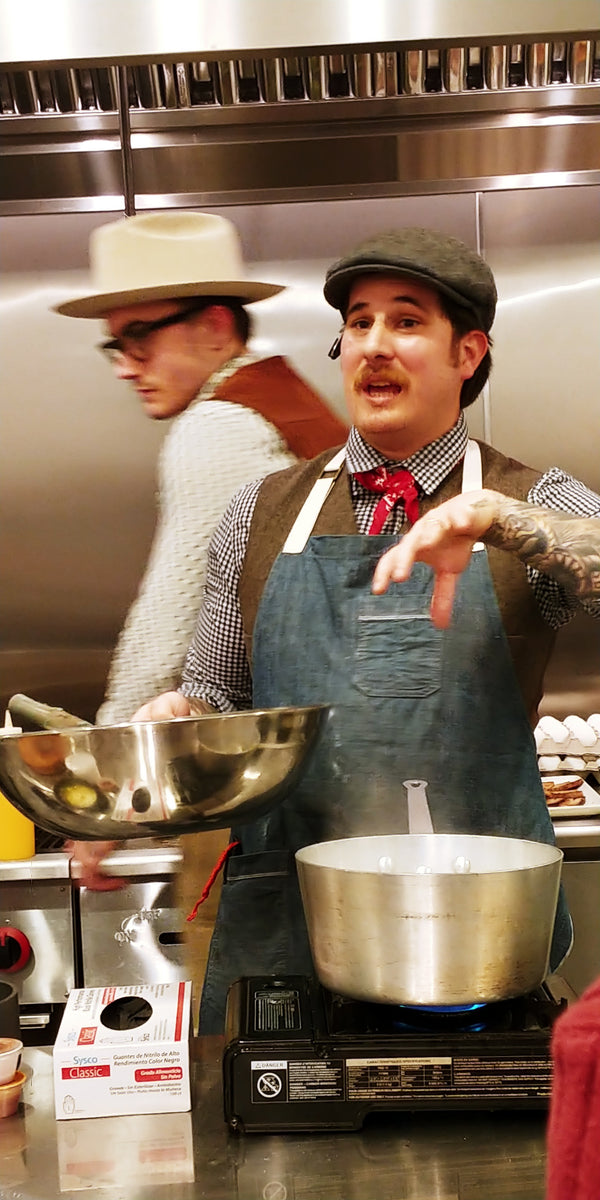 Kyle Nottingham, Chef/Partner, Ares Collective: Prep & Pastry, Commoner & Co, August Rhodes Market