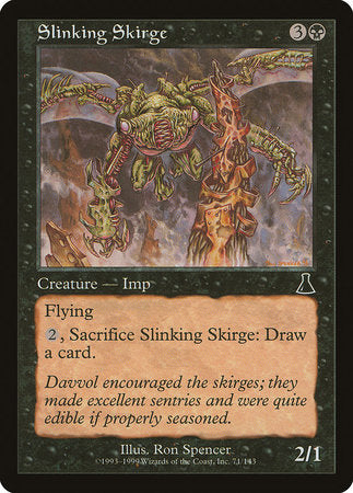 Slinking Skirge [Urza's Destiny] | Mothership Books and Games TX