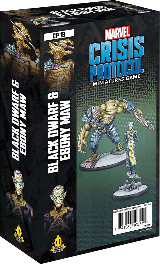 Marvel: Crisis Protocol - Black Dwarf and Ebony Maw Character Pack (PREORDER) | Mothership Books and Games TX