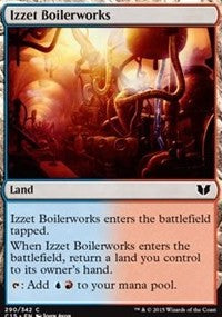 Izzet Boilerworks [Commander 2015] | Mothership Books and Games TX