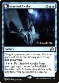 Startled Awake [Shadows over Innistrad Promos] | Mothership Books and Games TX
