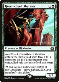 Greenwheel Liberator [Aether Revolt Promos] | Mothership Books and Games TX