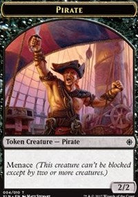 Pirate (004) Token [Ixalan Tokens] | Mothership Books and Games TX