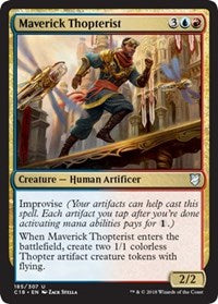 Maverick Thopterist [Commander 2018] | Mothership Books and Games TX