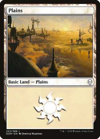 Plains (252) [Dominaria] | Mothership Books and Games TX