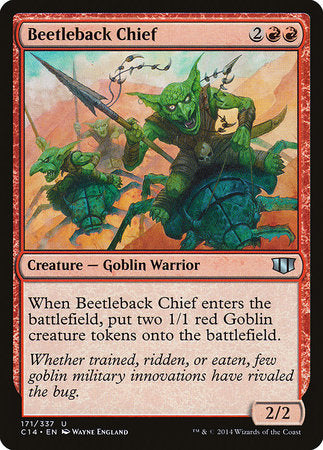 Beetleback Chief [Commander 2014] | Mothership Books and Games TX