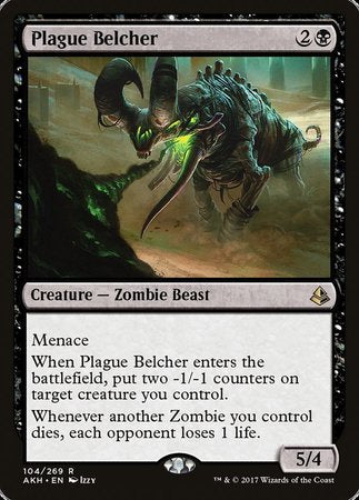 Plague Belcher [Amonkhet] | Mothership Books and Games TX