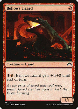 Bellows Lizard [Magic Origins] | Mothership Books and Games TX