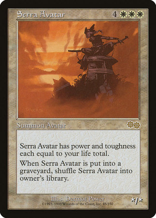 Serra Avatar [Urza's Saga] | Mothership Books and Games TX