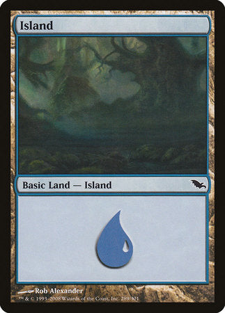 Island (289) [Shadowmoor] | Mothership Books and Games TX