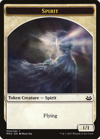 Spirit Token [Modern Masters 2017 Tokens] | Mothership Books and Games TX