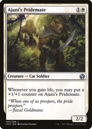Ajani's Pridemate [Iconic Masters] | Mothership Books and Games TX