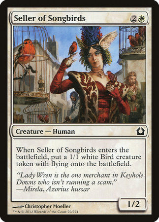 Seller of Songbirds [Return to Ravnica] | Mothership Books and Games TX