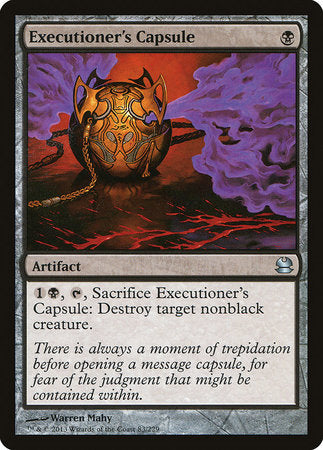 Executioner's Capsule [Modern Masters] | Mothership Books and Games TX