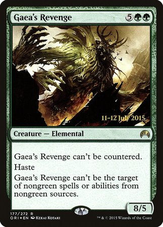 Gaea's Revenge [Magic Origins Promos] | Mothership Books and Games TX