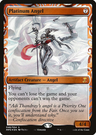 Platinum Angel [Kaladesh Inventions] | Mothership Books and Games TX